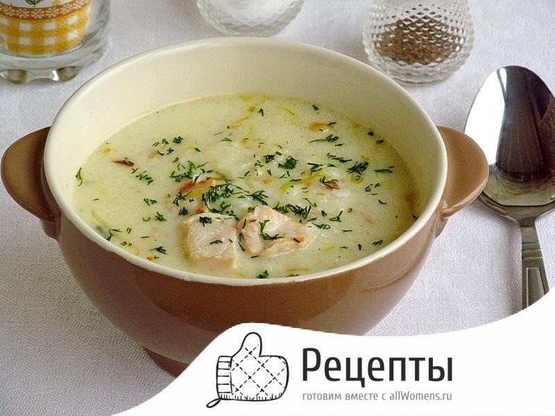 Легкий суп из курицы рецепт