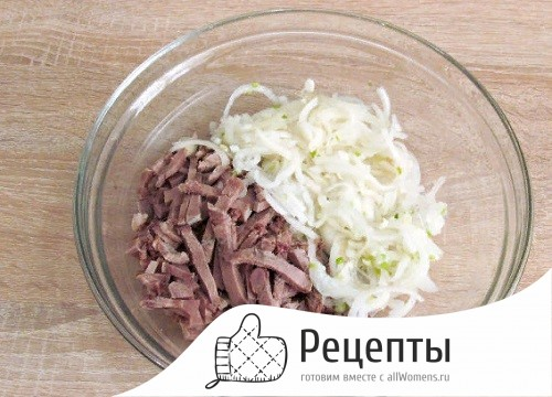 Салат со свиным языком - сытная новинка для торжественных и повседневных случаев: рецепт с фото и видео