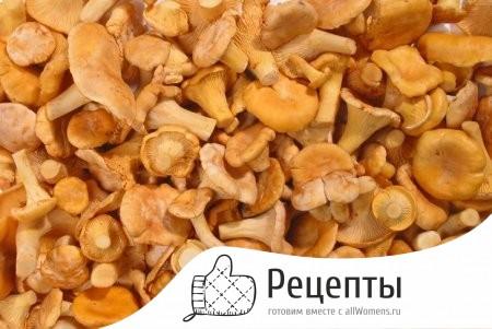как заморозить не вареные грибы лисички
