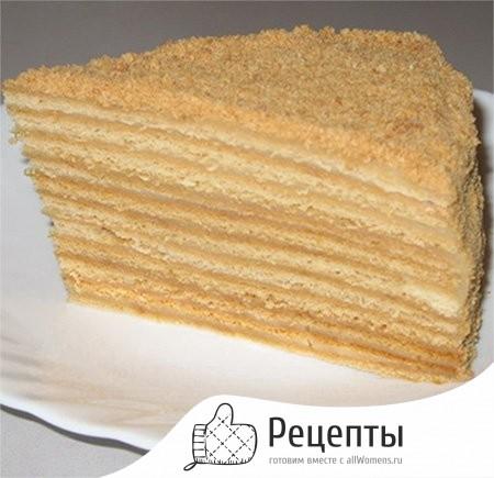 домашний тортик рецепт