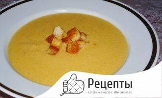 Суп пюре белковый